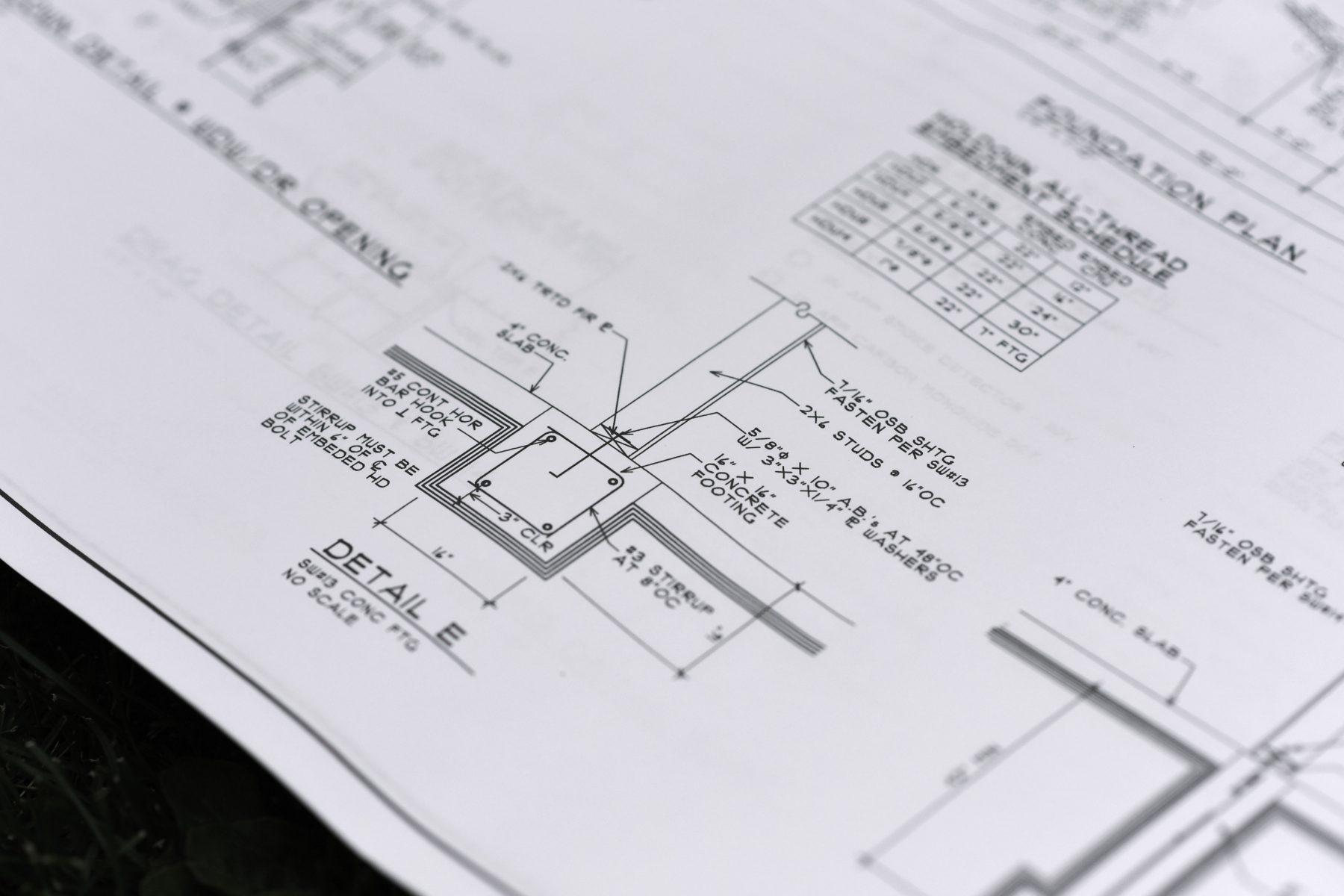 AK House Project plot plan detail