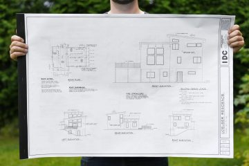 AK House Project construction drawings
