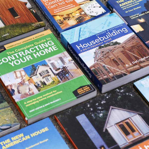 Books about homebuilding